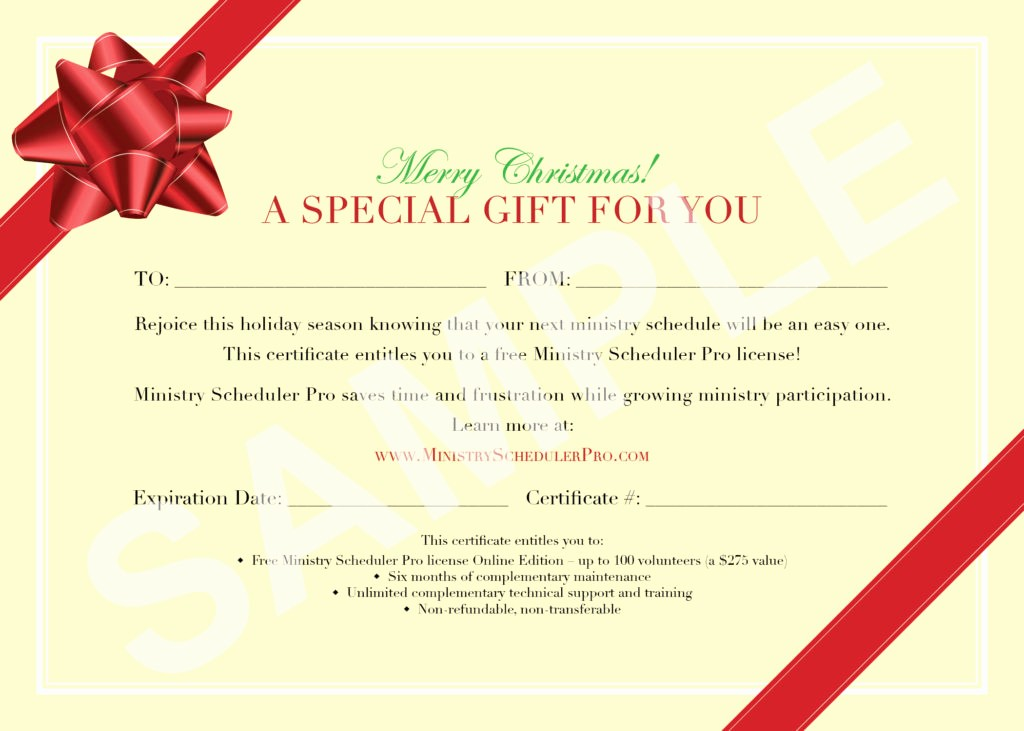 Create A Gift Card Free Elegant 7 New Gift Certificate Templates