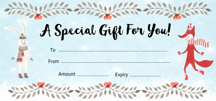 Create A Gift Certificate Free Fresh Make Your Own Gift Certificate