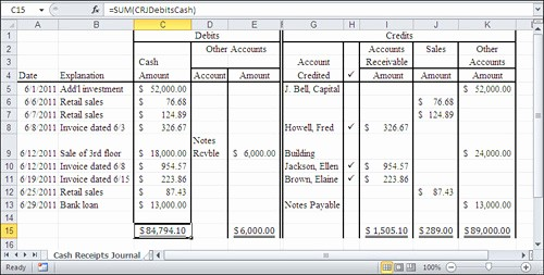 Create A Ledger In Excel Elegant How to Create A Ledger In Excel Filename