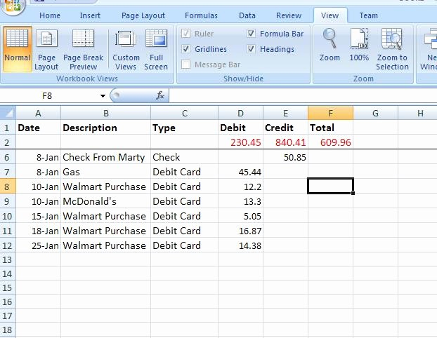 Create A Ledger In Excel Inspirational Meganlburnett How to Create A Basic Excel Ledger In 10