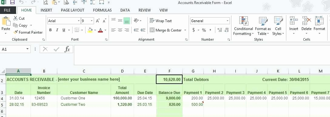 Create A Ledger In Excel Lovely Accounting Ledger Excel Medium Size Spreadsheet