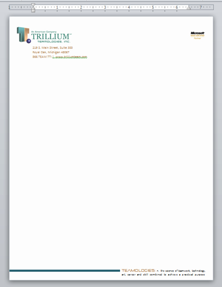 Create A Letterhead In Word Beautiful Creating Professional Looking Letterhead In Microsoft Word