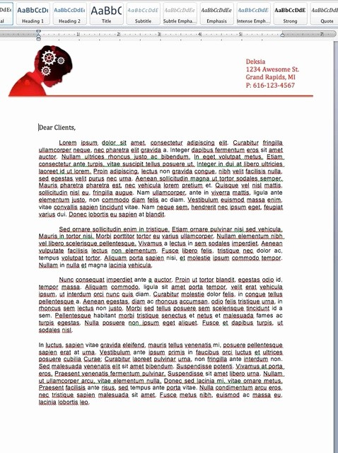 Create A Letterhead In Word Beautiful How to Make A Letterhead In Microsoft Word Snapguide