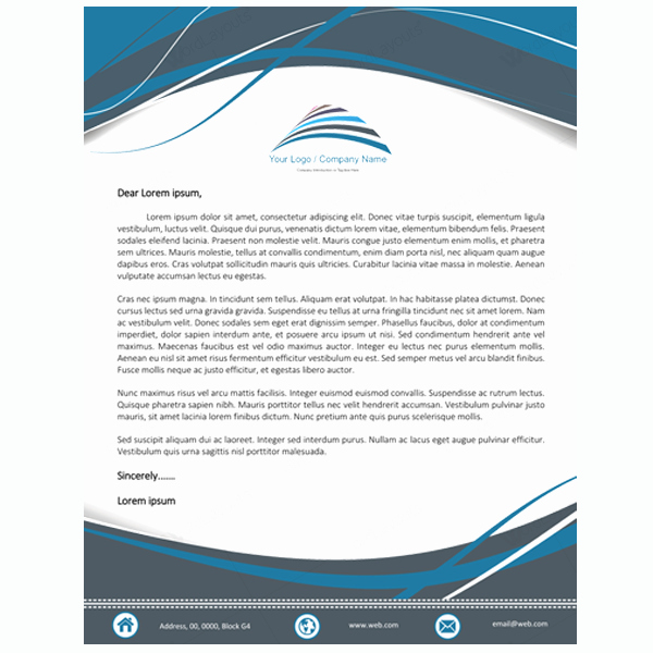 Create A Letterhead In Word Inspirational 5 Letterhead Word Templates Best for Any Business
