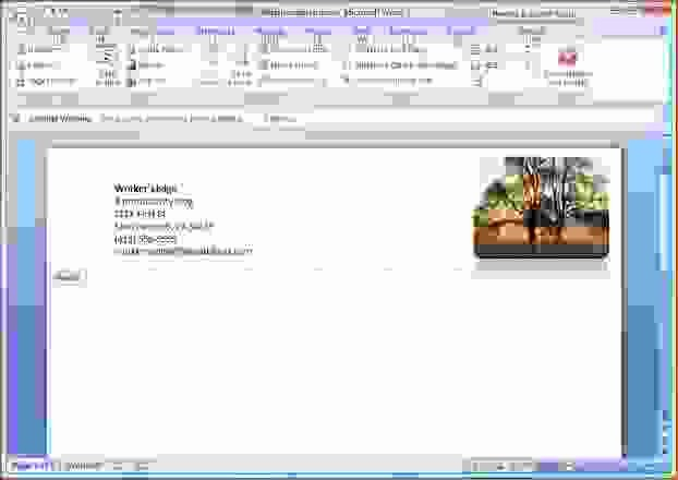 7 how to make letterhead in word