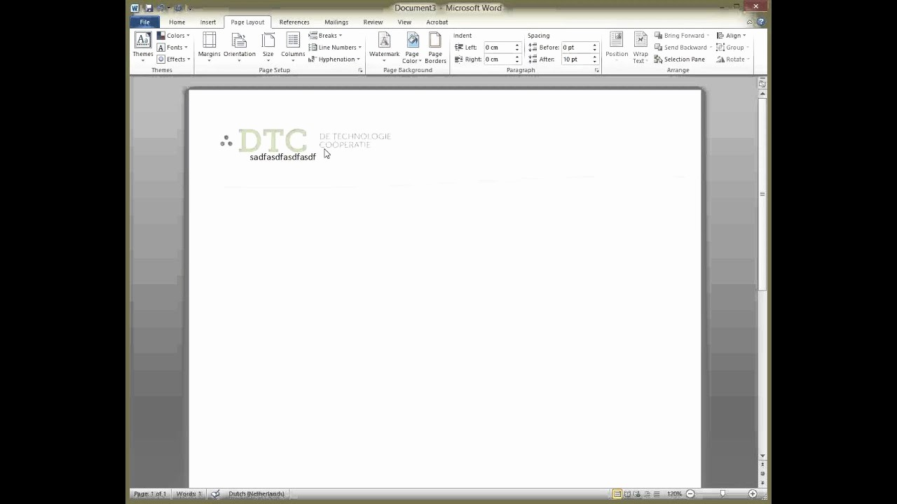 Create A Letterhead In Word Unique Letterhead Template In Word This is How to Do It