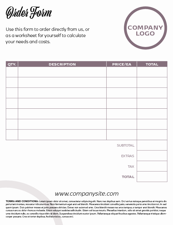 Create A Price List Template Inspirational Indesign Template Of the Month Price List & order form