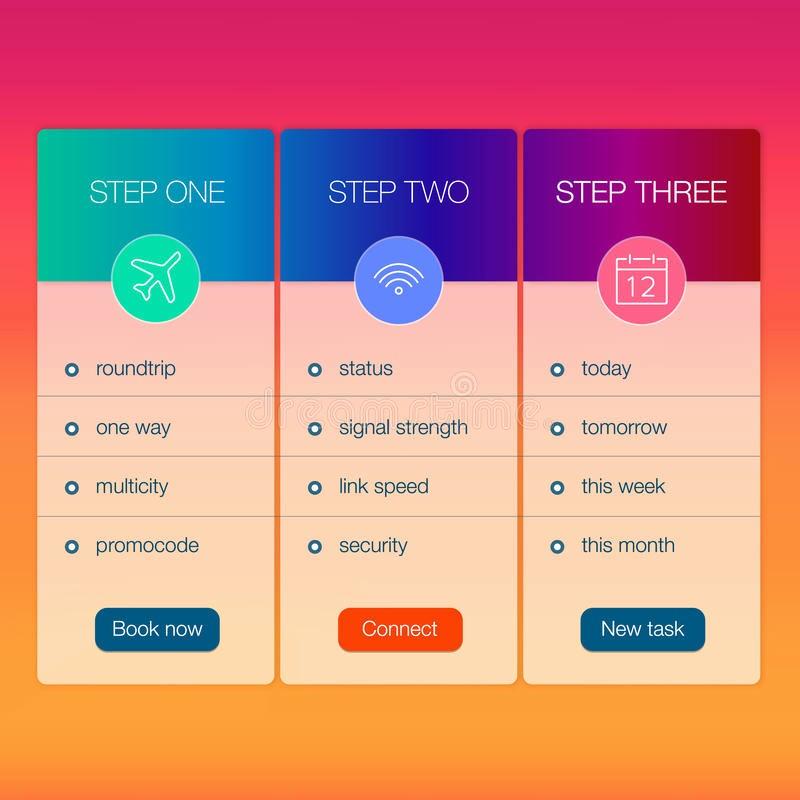 Create A Price List Template Luxury Modern User Interface Screen Price List Template Stock