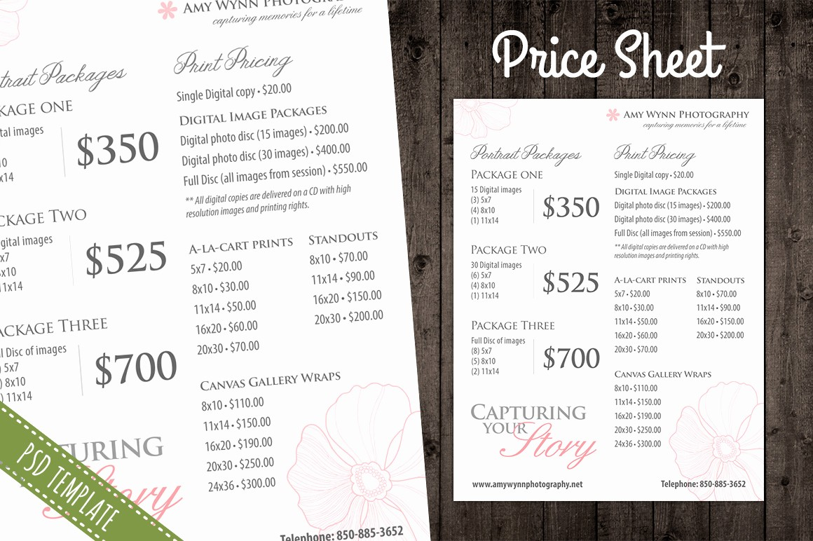 Create A Price List Template New Price List Template Pricing Sheet Flyer Templates On