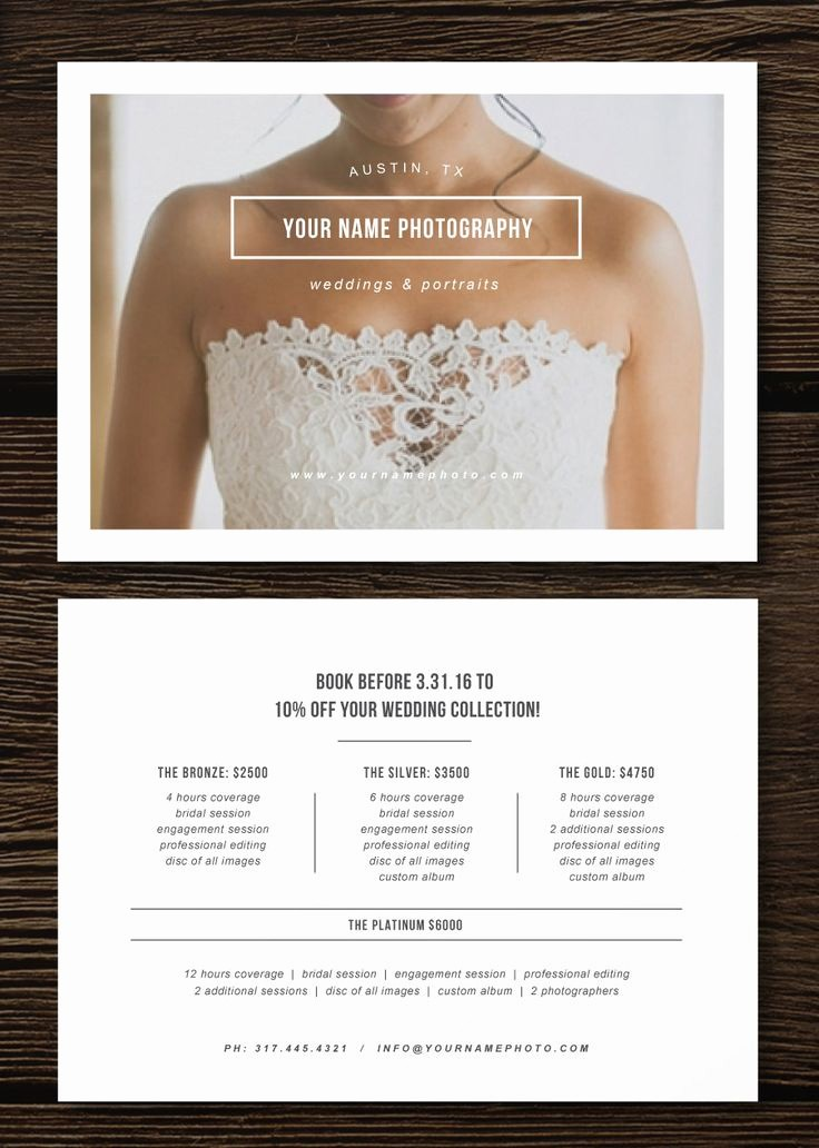 Create A Price List Template New Pricing Guide Flyer Template for Graphers Wedding