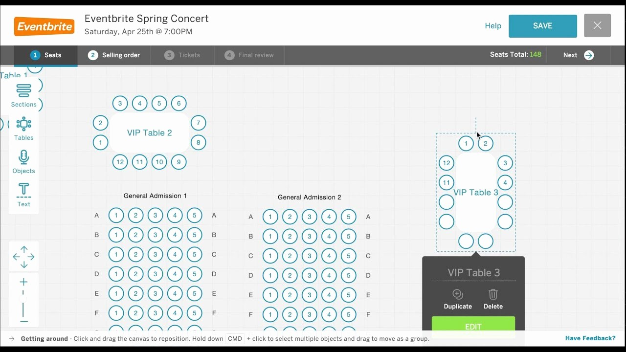 Create A Seating Chart Free Awesome How to Create A Custom eventbrite Seat Map for A Reserved