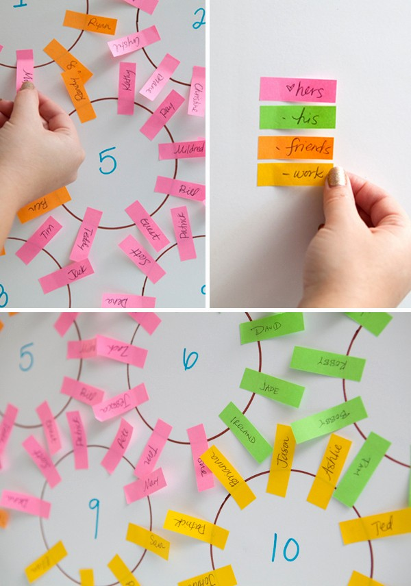 Create A Seating Chart Free Beautiful Learn How to Make the Easiest Wedding Seating Chart Ever