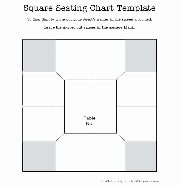 Create A Seating Chart Free Best Of Printable Blank Charts and Tables How to Create A Wedding