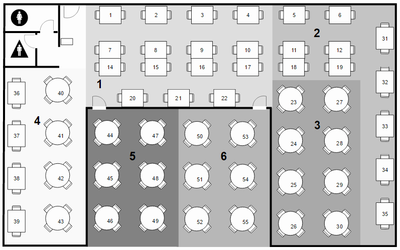 Create A Seating Chart Free Lovely Seating Chart software Create Seating Charts & More
