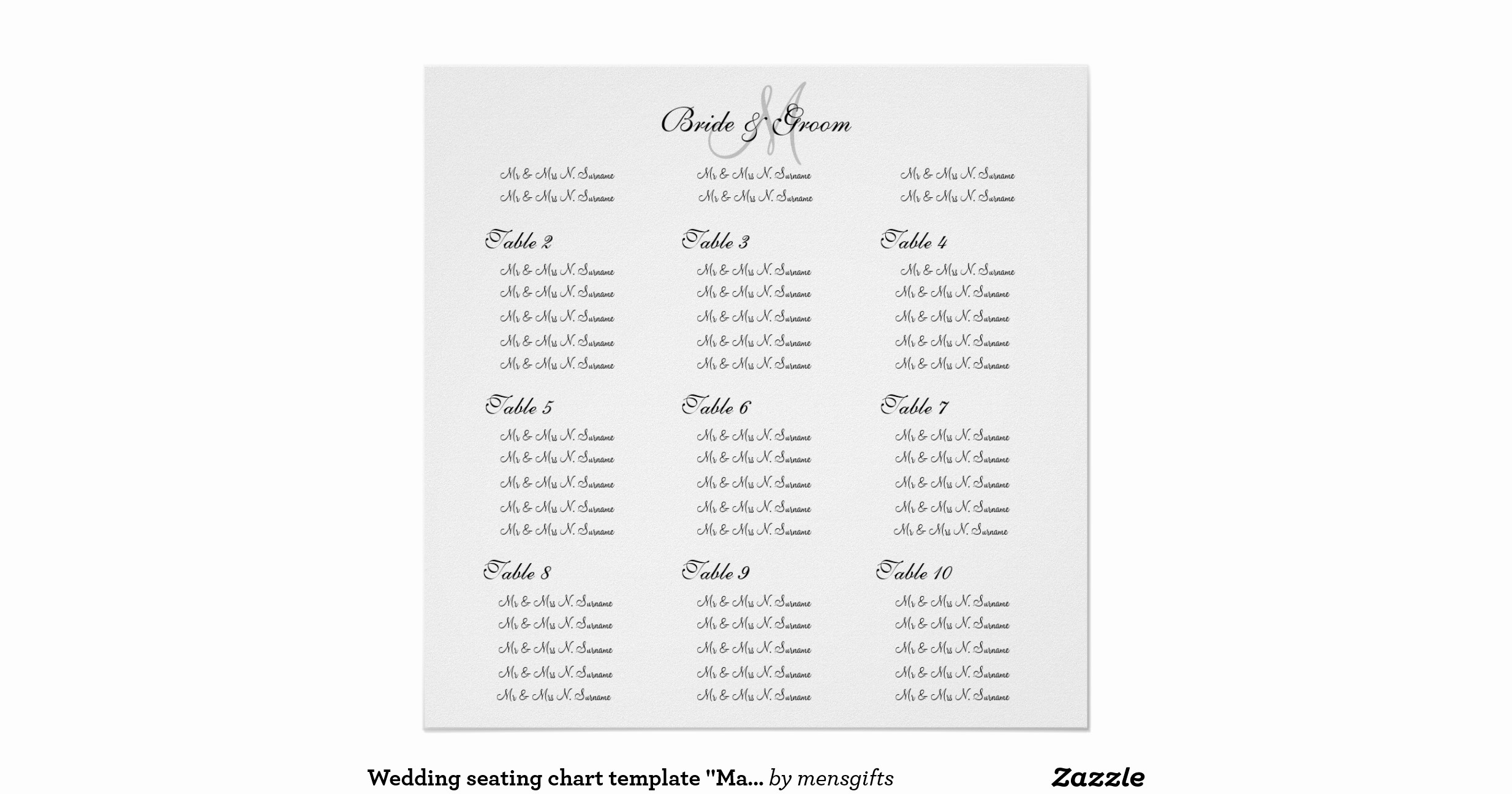 Create A Seating Chart Free Lovely Wedding Seating Chart Template Make Your Own Poster