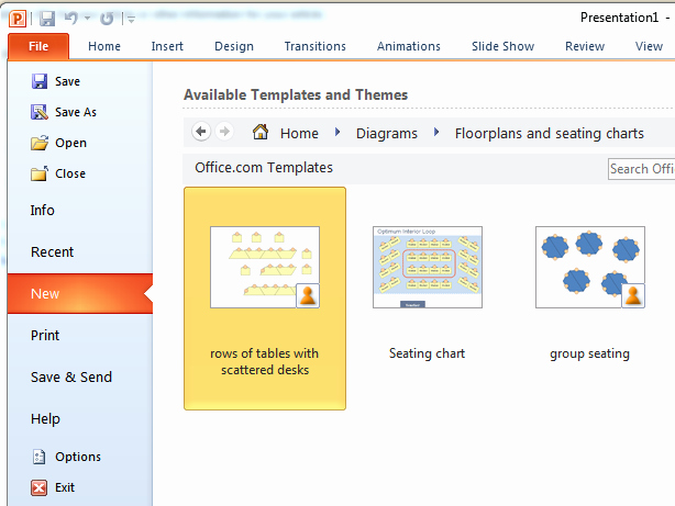 Create A Seating Chart Free New Create Seating Charts In Powerpoint