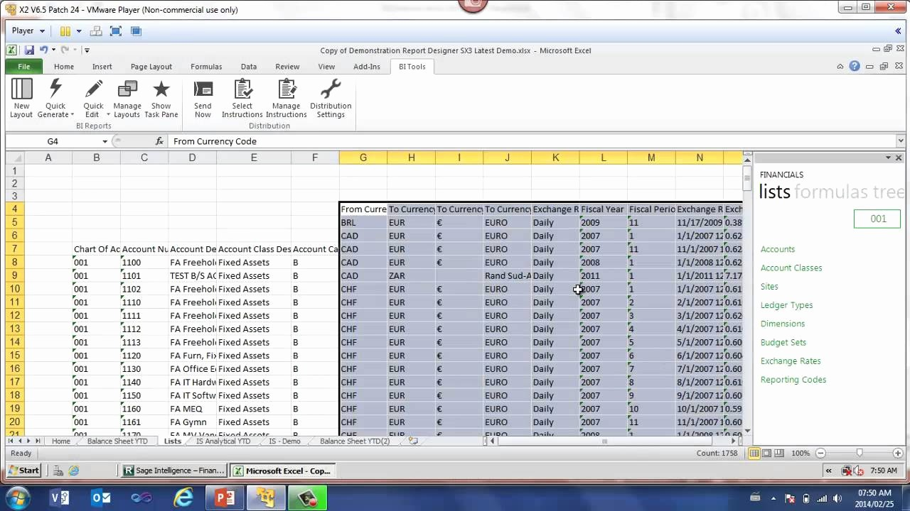 Create An Income Statement Online Beautiful Sage Erp X3 How to Create A Basic In E Statement and