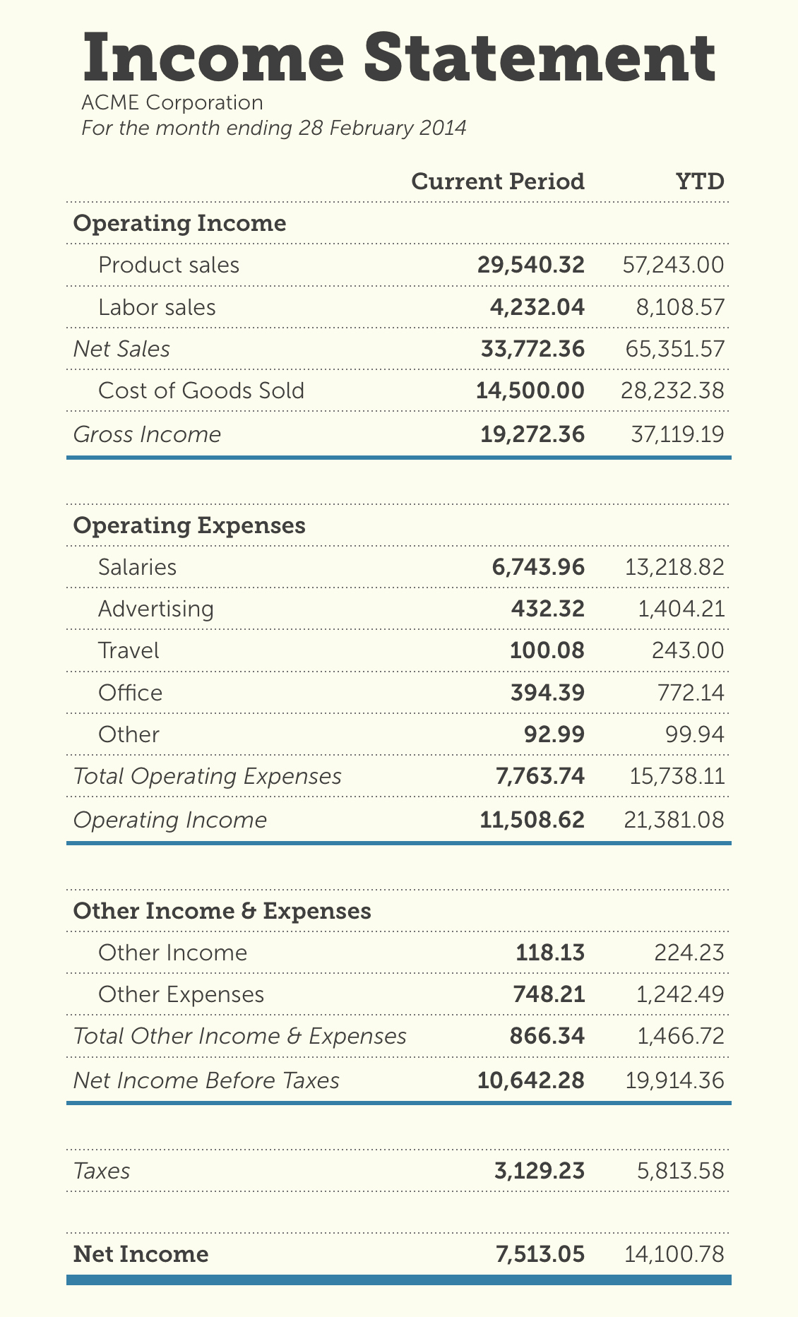 Create An Income Statement Online Best Of How to Read Your In E Statement Like An Accounting Pro