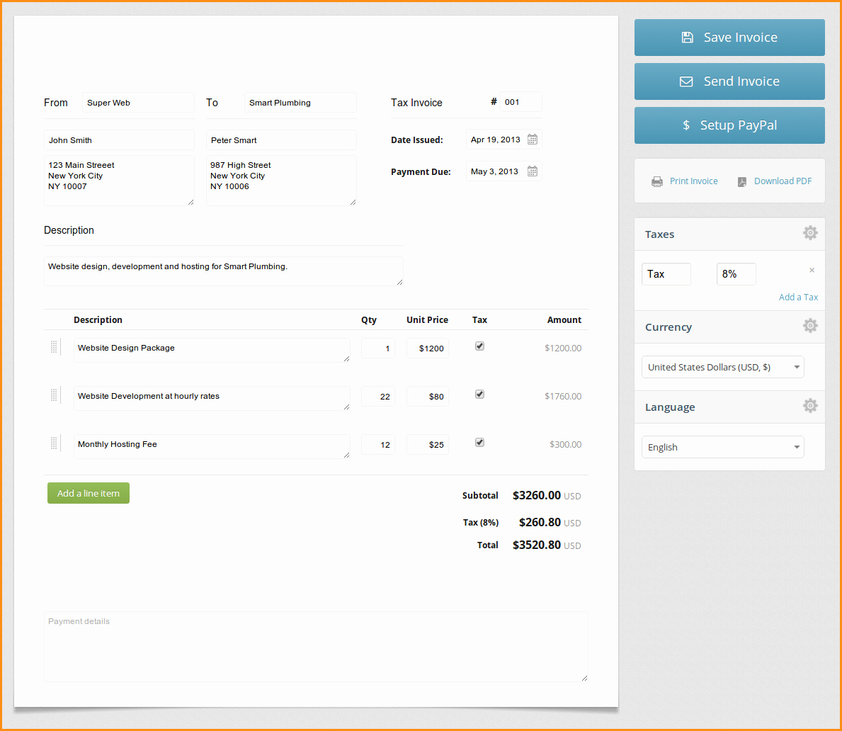 Create An Invoice Free Template Awesome 11 Create An Invoice Free