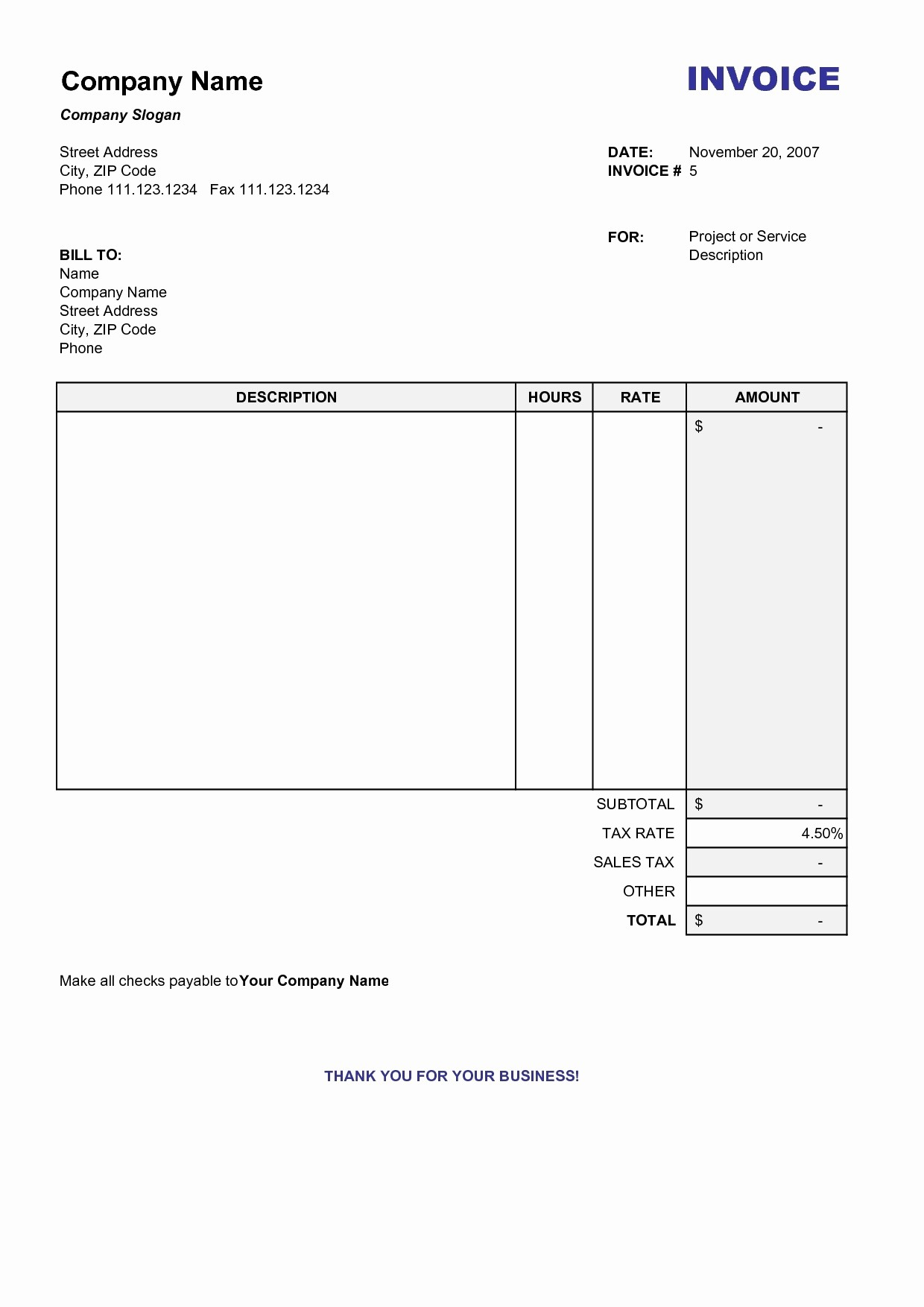 Create An Invoice Free Template Luxury How to Make An Invoice Word Bamboodownunder