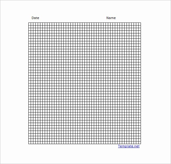 Create Graph Paper In Excel Fresh 12 Graph Paper Templates Pdf Doc