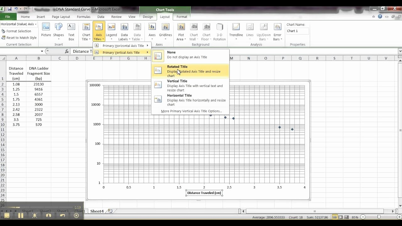 Create Graph Paper In Excel Fresh How to Make A Semi Log Graph In Excel 2010 Page Of