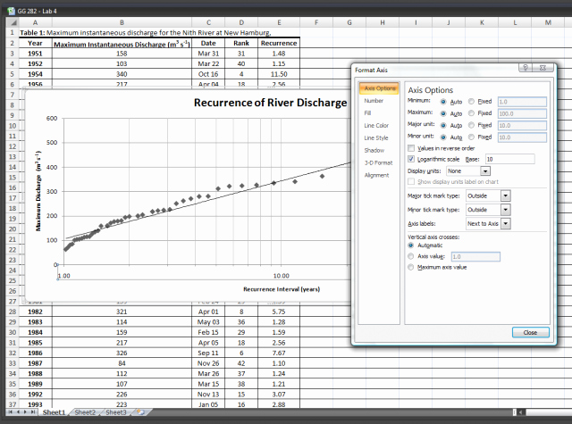 Create Graph Paper In Excel Fresh How to Plot Semi Log Graph In Microsoft Excel software