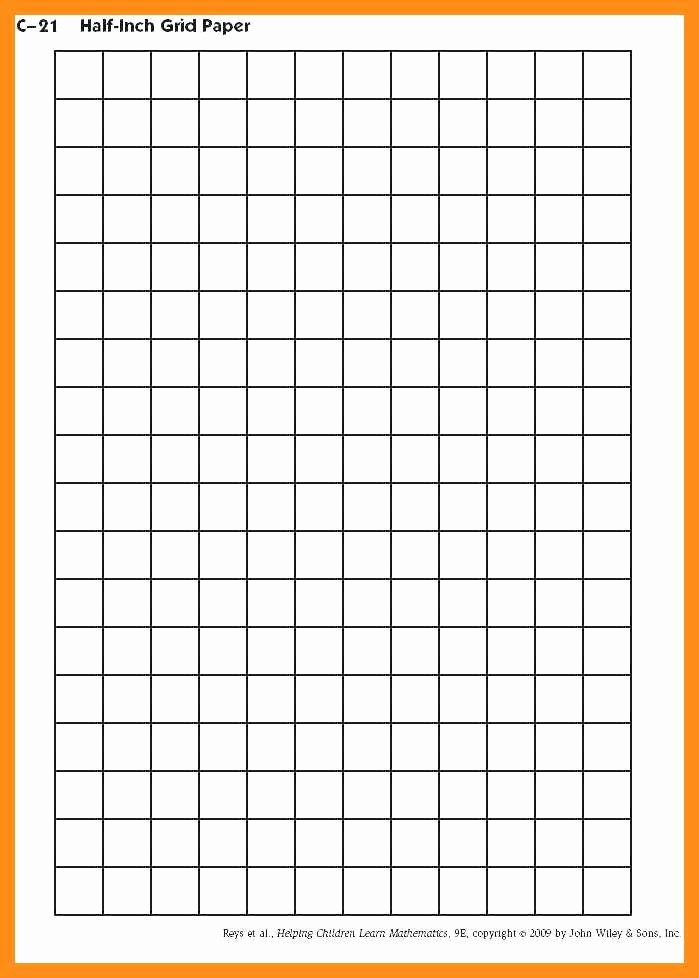Create Graph Paper In Excel Lovely 10 11 Grid Paper Template for Excel
