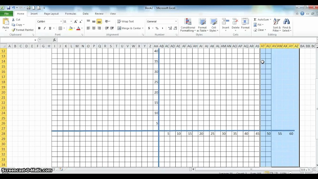 Create Graph Paper In Excel New Cartesian Graph In Excel