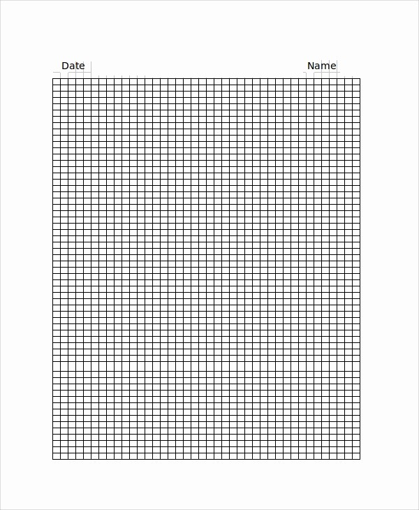 Create Graph Paper In Excel Unique 26 Sample Graph Paper Templates