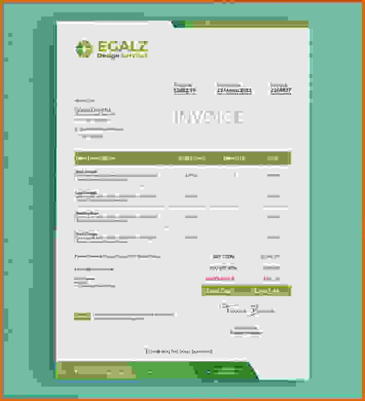 Create Invoice Template In Word Inspirational 8 How to Make Invoice Template In Word