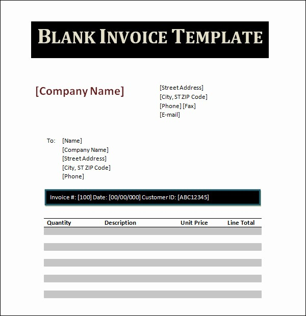 Create Invoice Template In Word Unique 12 Word Invoice Samples