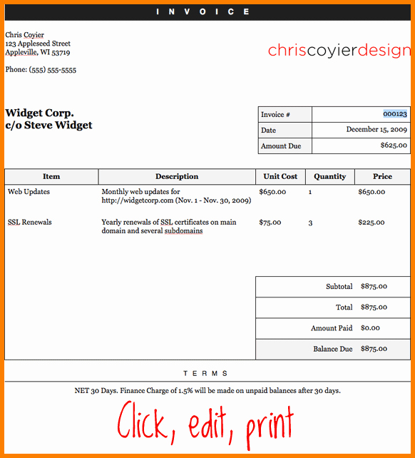 Create Invoice Template In Word Unique How to Make A Invoice Word Rusinfobiz