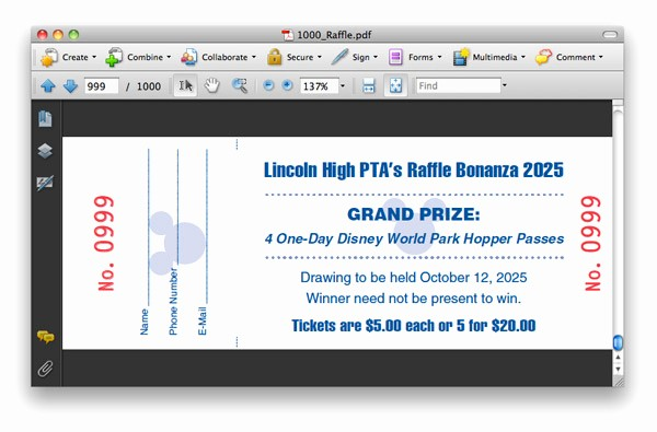 Create Numbered Tickets In Word Awesome Creating Numbered Raffle Tickets with Indesign Tutorial