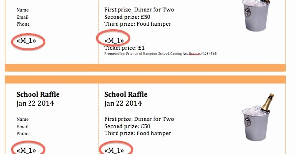 Create Numbered Tickets In Word Beautiful Raffle Ticket Creator Create Numbered Raffle Tickets In