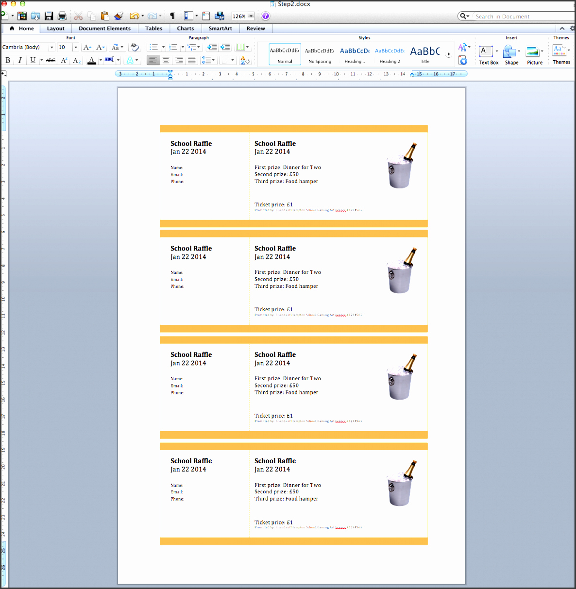 Create Numbered Tickets In Word Fresh 9 Raffle Ticket Creator Sampletemplatess Sampletemplatess