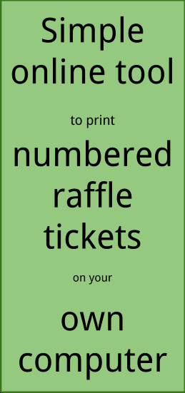 Create Numbered Tickets In Word Luxury Raffle Ticket Creator Print Numbered Raffle Tickets at