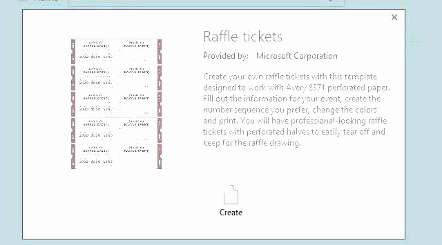 Create Numbered Tickets In Word Unique Free Printable Raffle Ticket Template with Numbers