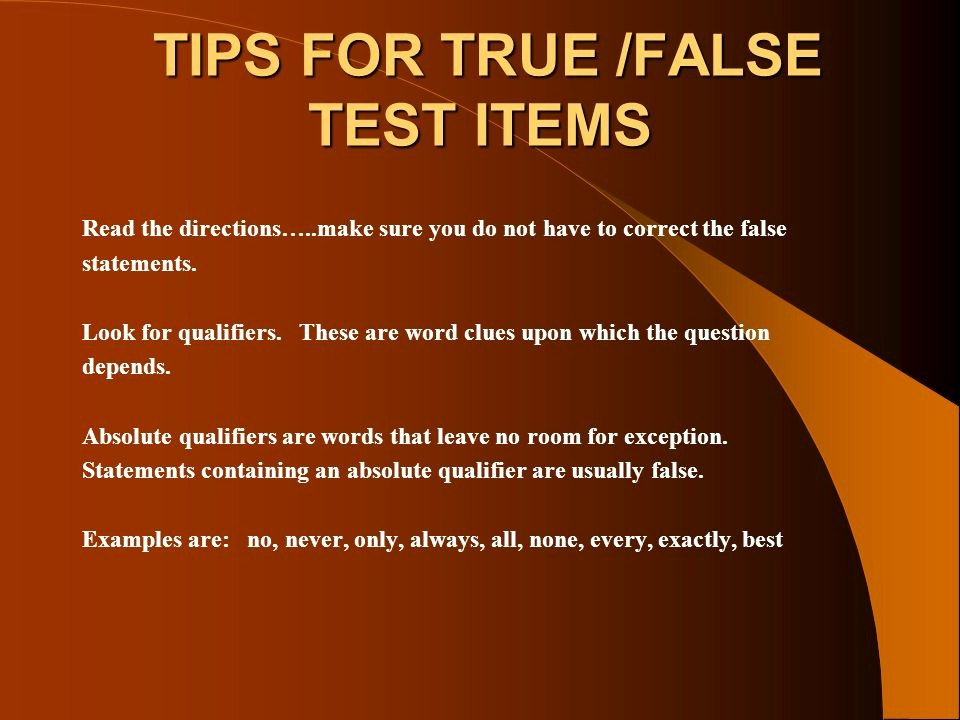 Create True or False Quiz Beautiful Review Time Management Ppt Video Online