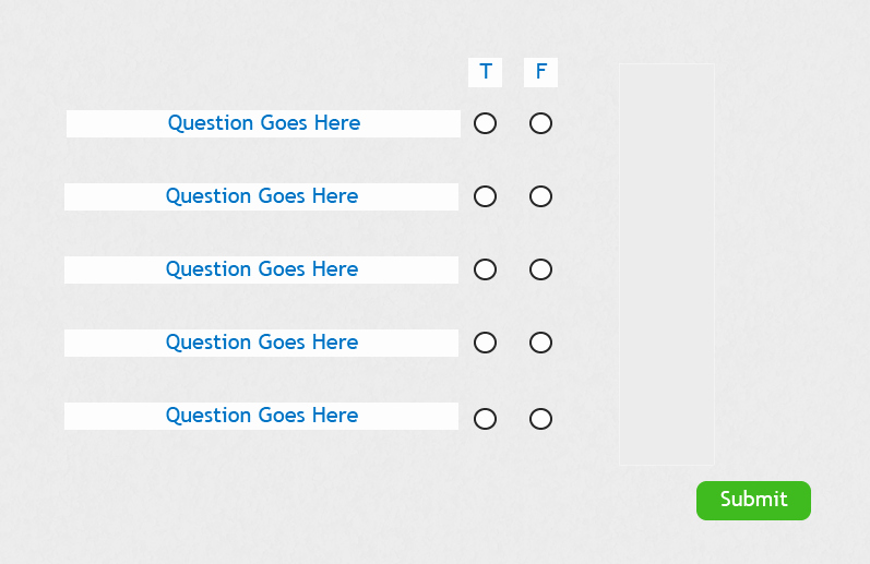 Create True or False Quiz New Creating A Custom Question Slide with True False Options
