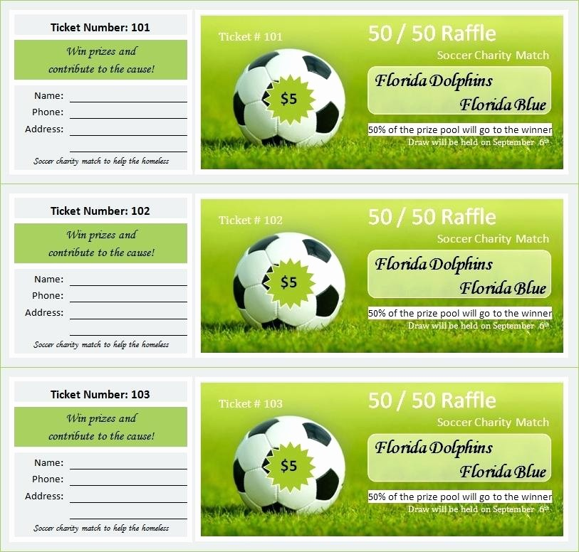 Create Your Own Raffle Tickets Beautiful Create A Concert Ticket Template Free Tickets for with