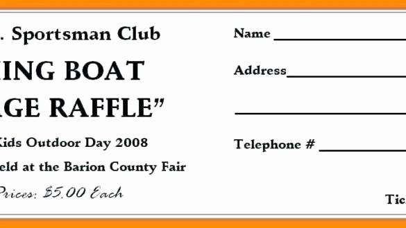 Create Your Own Raffle Tickets Beautiful Raffle Ticket Template Free Elegant Templates Make Your