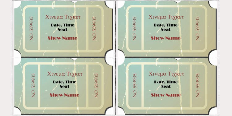 Create Your Own Raffle Tickets Lovely 45 Raffle Ticket Templates