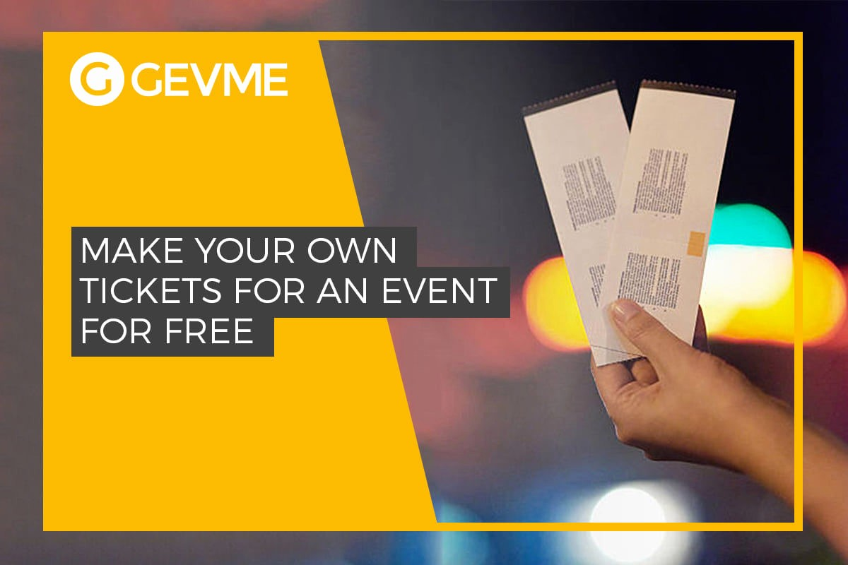 Create Your Own Tickets Free Beautiful How to Create event Tickets for Free