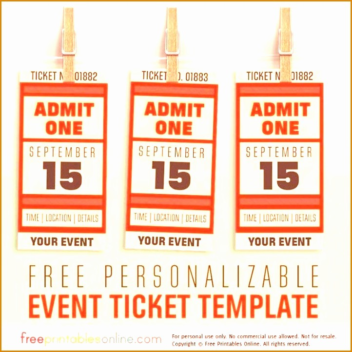 Create Your Own Tickets Free Unique 4 Create Raffle Tickets Line Besttemplates Besttemplates