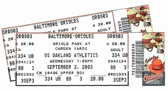 Create Your Own Tickets Free Unique Baseball Ticket Template – Buildingcontractor