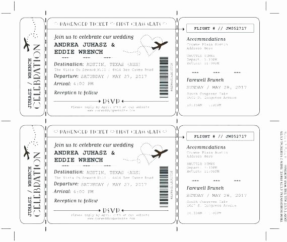 Create Your Own Tickets Template Inspirational Make Your Own Ticket Stub Free Template Word Generator