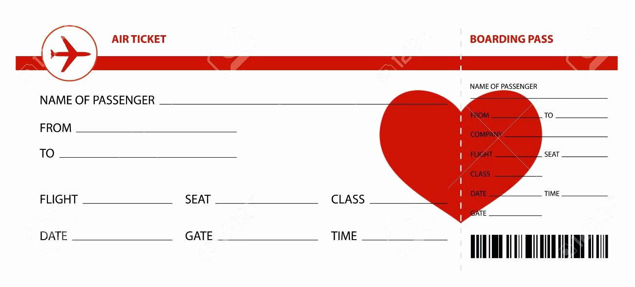 Create Your Own Tickets Template Unique Make Your Own Fake Boarding Pass Plane Ticket F – Nnarg
