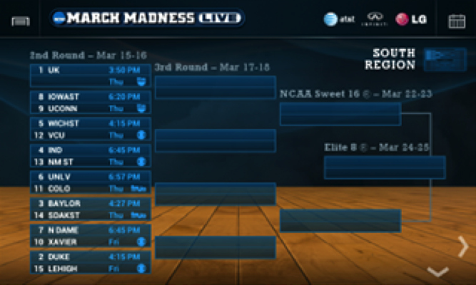 Create Your Own tournament Bracket Inspirational Ncaa March Madness android App Full tournament Coverage