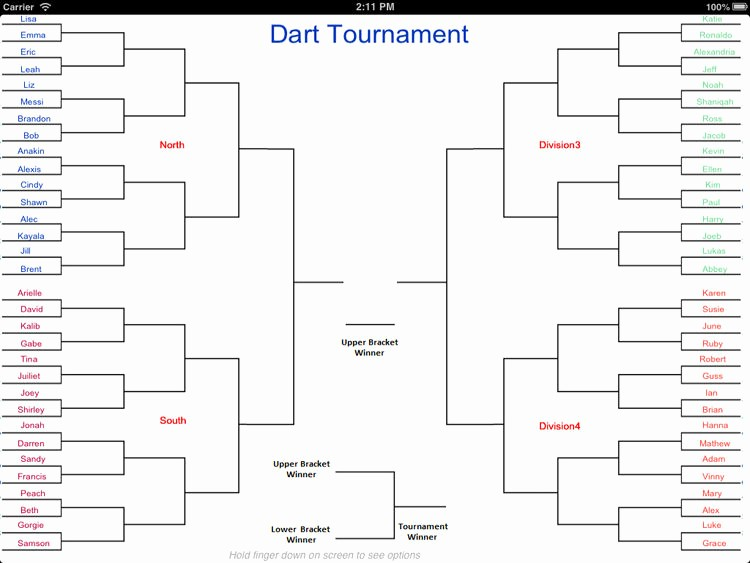 Create Your Own tournament Bracket Inspirational tournament Bracket Creator Free Double Elimination